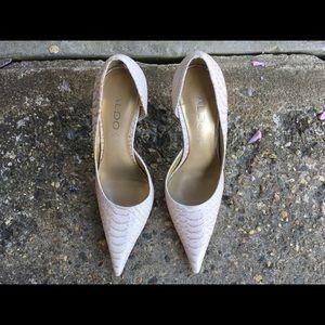 Aldo Leather Stilettos Size 36
